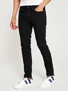 hugo-skinny-jeans-black