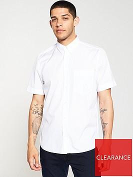 hugo-ekilio-short-sleeve-shirt-white