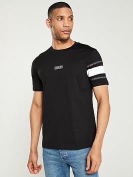 hugo-durnednbsplogo-t-shirt-black