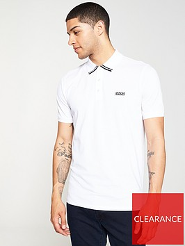 hugo-dyler-tipping-polo-shirt-white
