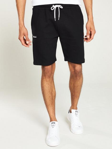 ellesse-noli-fleece-shorts-black