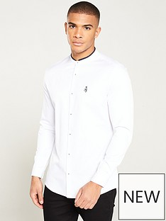 river-island-long-sleeve-grandad-prom-rib-shirt