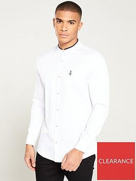 river-island-long-sleeve-grandad-prom-rib-shirt