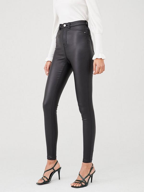Skylar Short Coated Skinny Jean