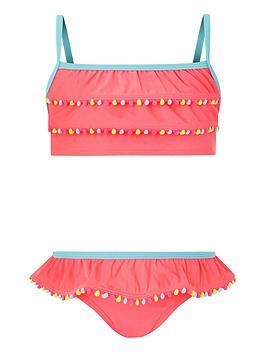 accessorize-girls-pom-pom-trim-bikini-coral