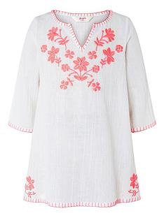accessorize-girls-embroidered-long-sleeve-kaftannbsp--white