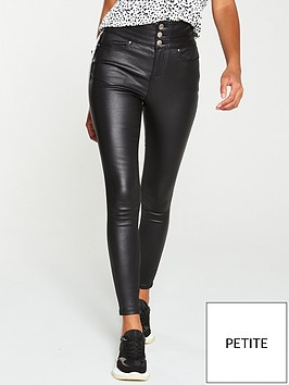 v-by-very-petite-macy-high-waist-coated-skinny-jean-black