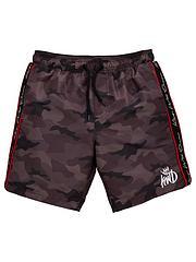 f47b0c3a2a Kings Will Dream Boys Marden Camo Swim Shorts - Black