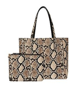 accessorize-accessorize-reversible-snake-print-tote-bag