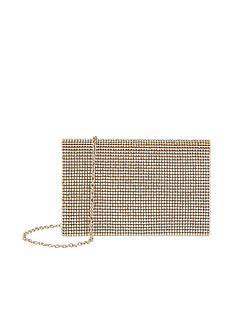 f71493a23d6ee8 Accessorize Accessorize Cara Holographic Diamante Clutch Bag
