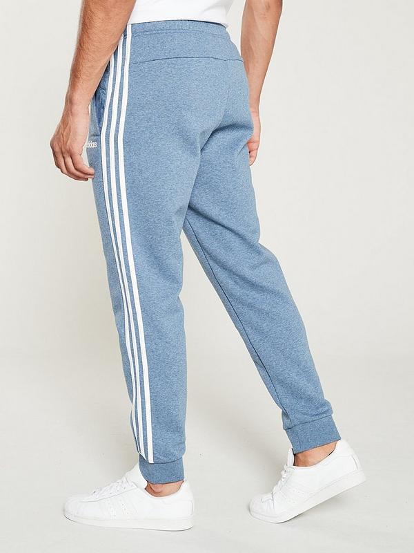 3 Stripe Linear Logo Pants - Blue