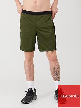adidas-3-stripe-training-shorts-green