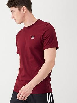adidas-originals-essential-t-shirt-burgundy