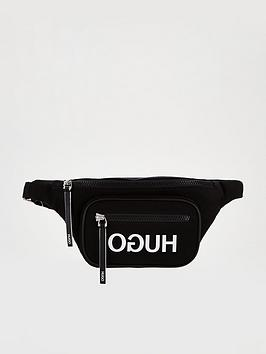 hugo-record-bumbag-black