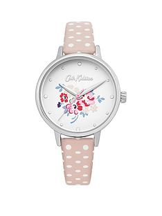 fc5b888ff33fa Cath Kidston Cath Kidston Lucky Bunch Off White Dial Nude Spot Strap Ladies  Watch