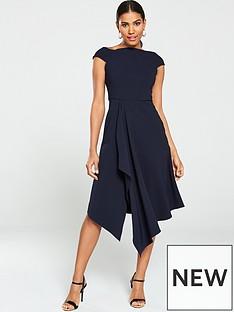 v-by-very-riviera-draped-prom-dress-navy