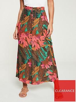 v-by-very-tropical-midi-skirt-print