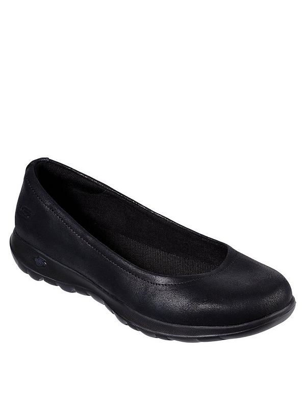 GOwalk Lite Gem Ballerina Shoes - Black