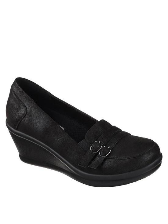 Rumblers Frilly Wedge Shoe
