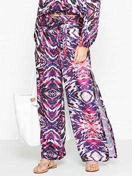 west-seventy-nine-flutter-graffiti-queen-print-trousers-pink