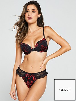 dorina-anderson-floralnbsplace-thong-red