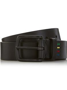 ps-paul-smith-mens-zebra-logo-leather-belt-black