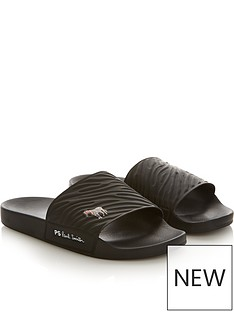 ps-paul-smith-mens-summit-zebra-sliders-black