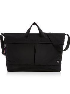 ps-paul-smith-mens-zebra-logo-holdall-bag-black