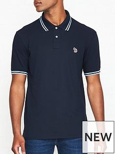 ps-paul-smith-zebra-logo-tipped-pique-polo-shirt-navy