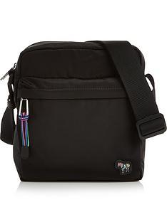 ps-paul-smith-mens-zebra-logo-cross-body-bag-black