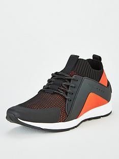 hugo-hybrid-runner-trainers-black