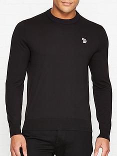ps-paul-smith-zebra-logo-knitted-jumper-black