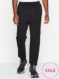 just-cavalli-logonbspprint-joggers-black