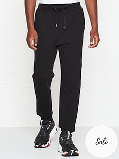just-cavalli-logonbspprint-joggers-black