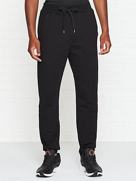 just-cavalli-just-tiger-embroidered-joggers-black