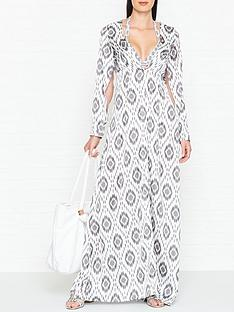 west-seventy-nine-willow-icat-print-cover-up-whitegrey