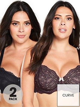 dorina-curves-abigail-2-pack-non-padded-bra-red-black