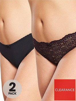 dorina-curves-abigail-2-pack-brazilian-brief-red-black