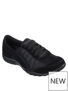 02ffdaa2 Skechers Breathe Easy - Weekend Wishes Trainer - Black