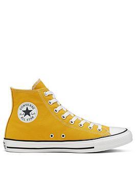 converse-chuck-taylor-all-star-canvas-hi-top-plimsolls-mustard