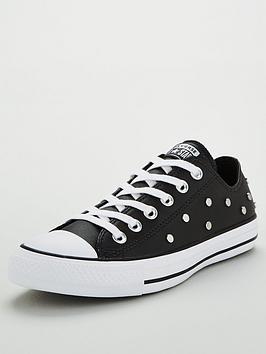 converse-chuck-taylor-all-star-stud-leather-ox-plimsolls-black
