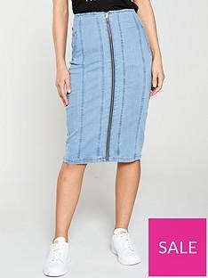 v-by-very-zip-throughnbspdenim-midi-skirt-light-wash