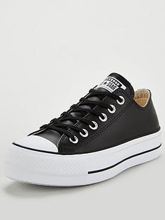 converse-chuck-taylor-all-star-platform-lift-clean-leather-ox-black