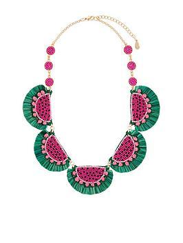 accessorize-watermelon-statementnbspnecklace-multi