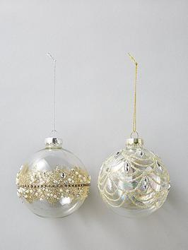 sass-belle-set-of-2-gold-embellished-glass-baubles