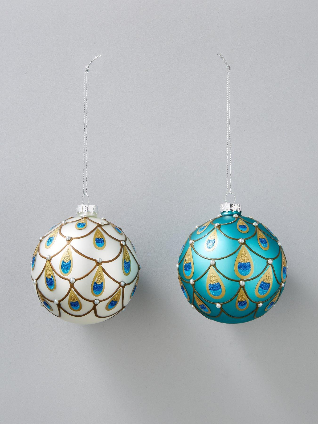 51 Pack Luxury Baubles Value Bag Decor Balls Sparkle Christmas Tree BRAND NEW