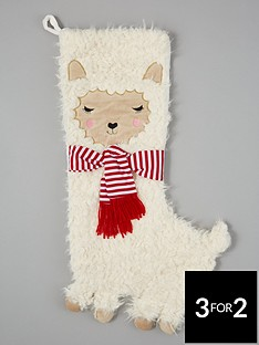 sass-belle-fa-la-la-llama-christmas-stocking