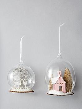 sass-belle-winter-scene-glass-christmas-tree-baubles-set-of-2