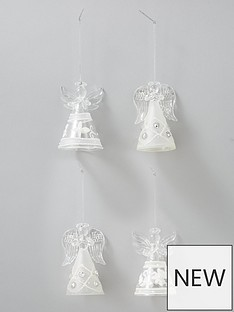 sass-belle-glitter-angel-christmas-tree-decorations-set-of-4
