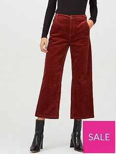 v-by-very-jumbo-cord-wide-leg-crop-trouser-rust